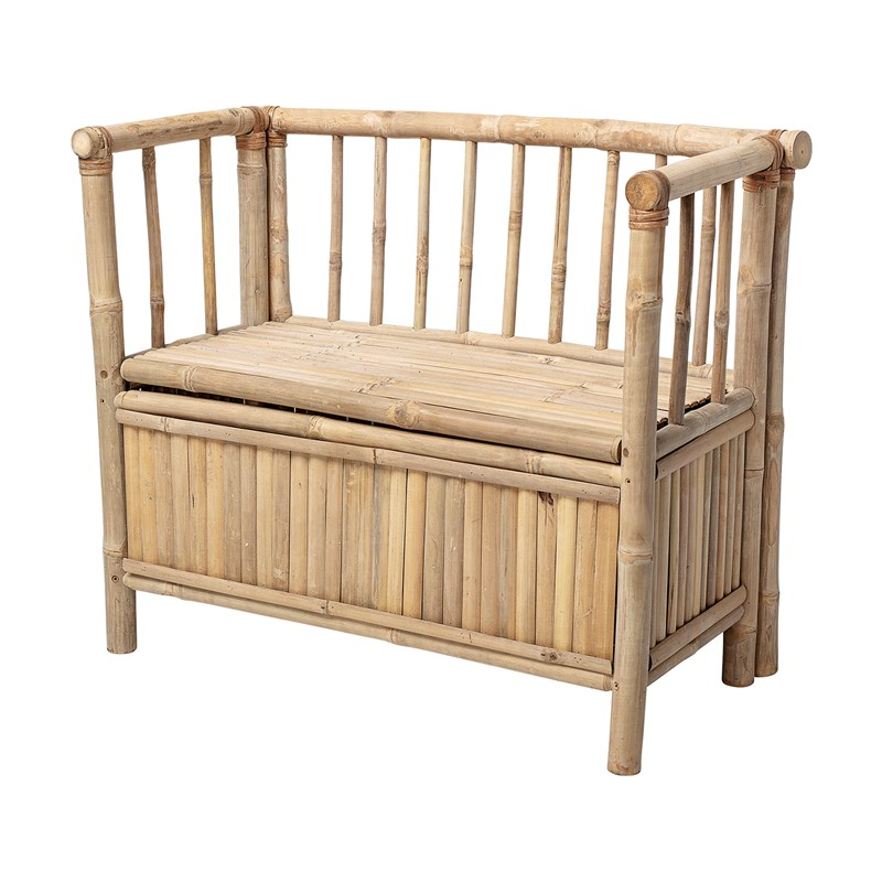 Bloomingville Bench Nature Bamboo One Size