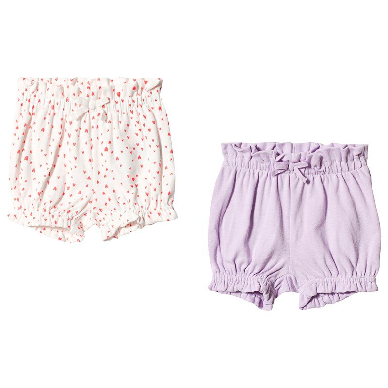 Gap 2-Pack Mamelucker Pale Lilac 0-3 mån