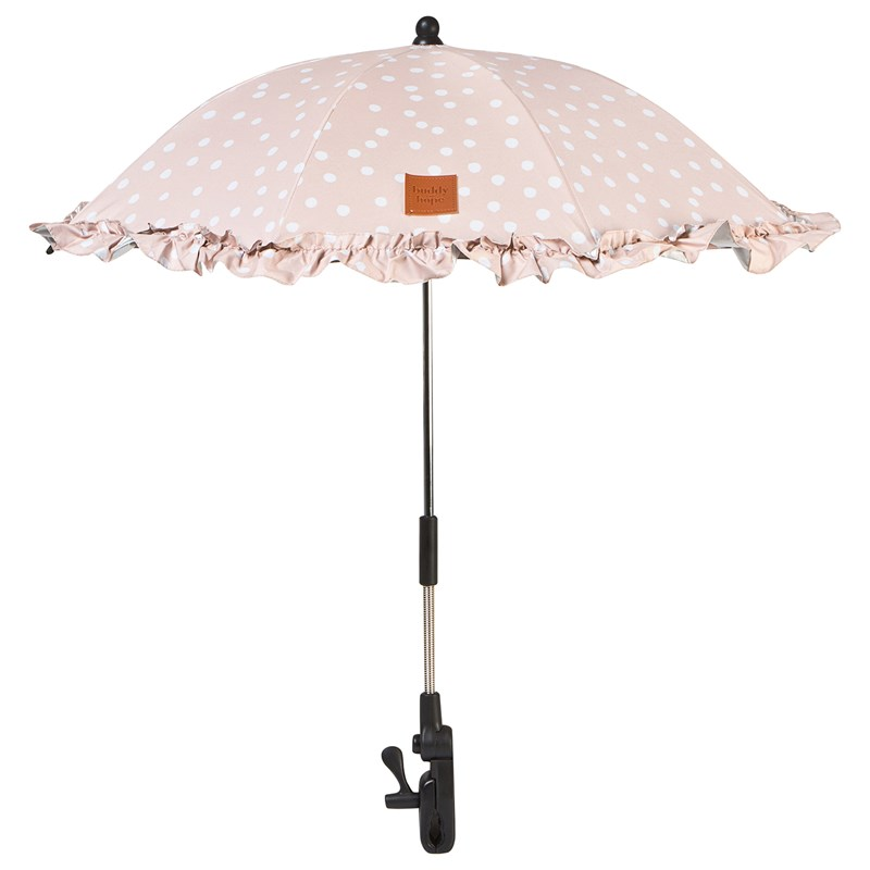 Buddy & Hope Parasoll Barnvagn Rosa One Size