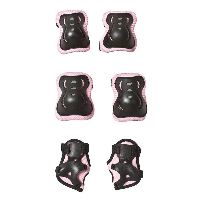 STOY Elbow and Knee Protection Pads Pink Size S 3 - 5 years