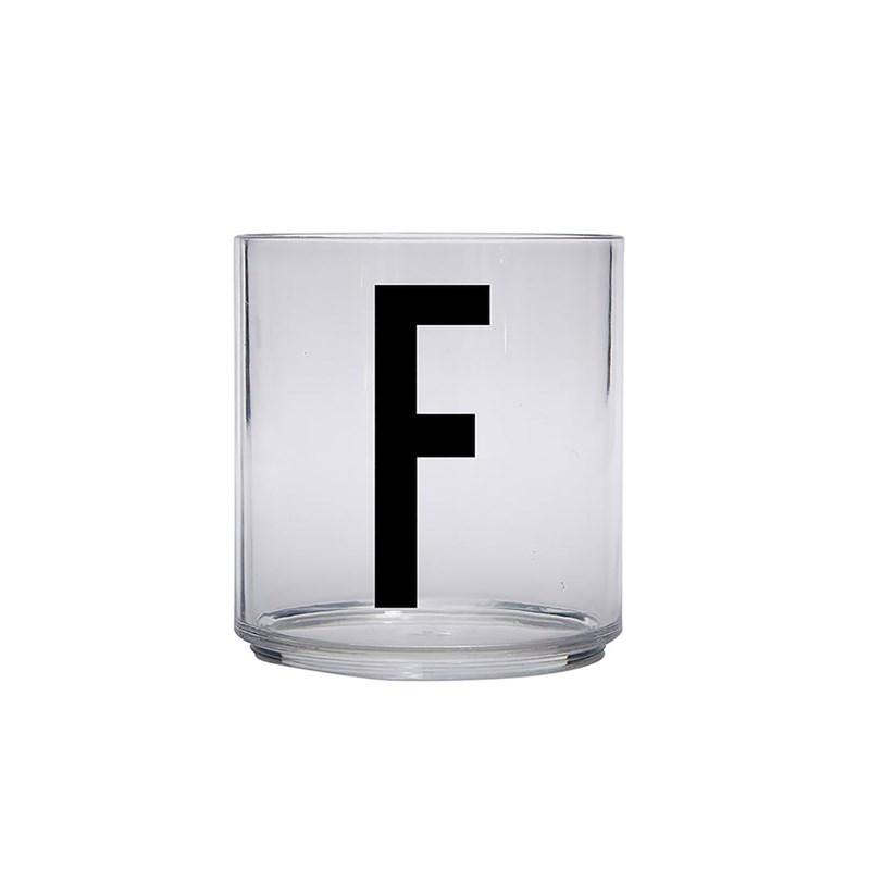 Design Letters Kids Personal Drinking glass F One Size