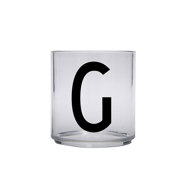 Design Letters Kids Personal Drinking glass G One Size