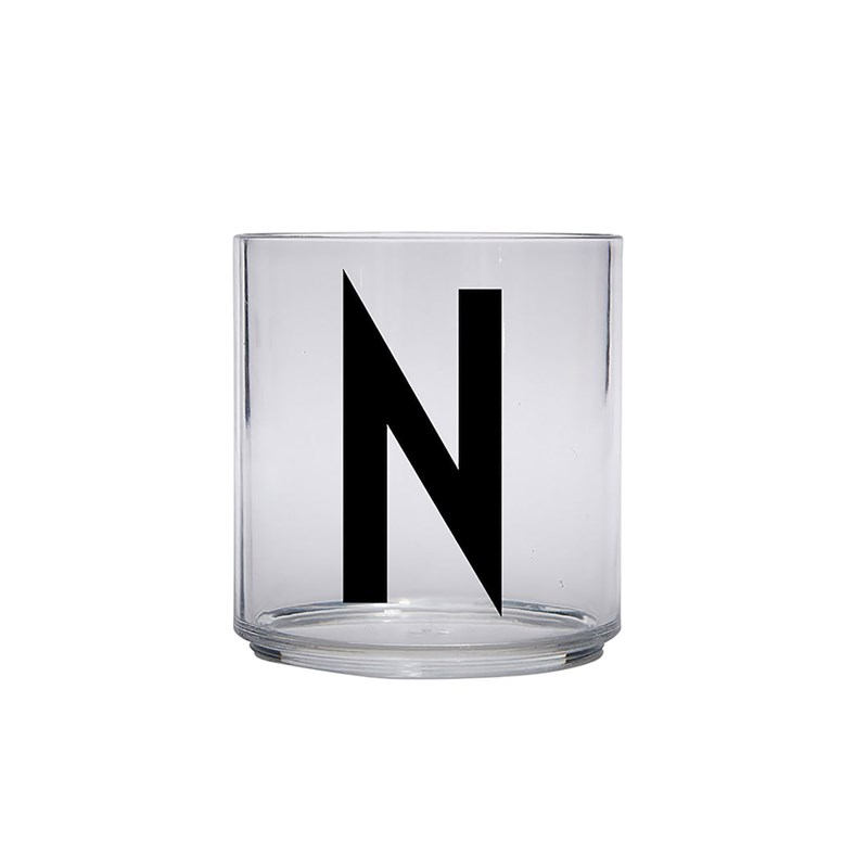 Design Letters Kids Personal Drinking glass N One Size