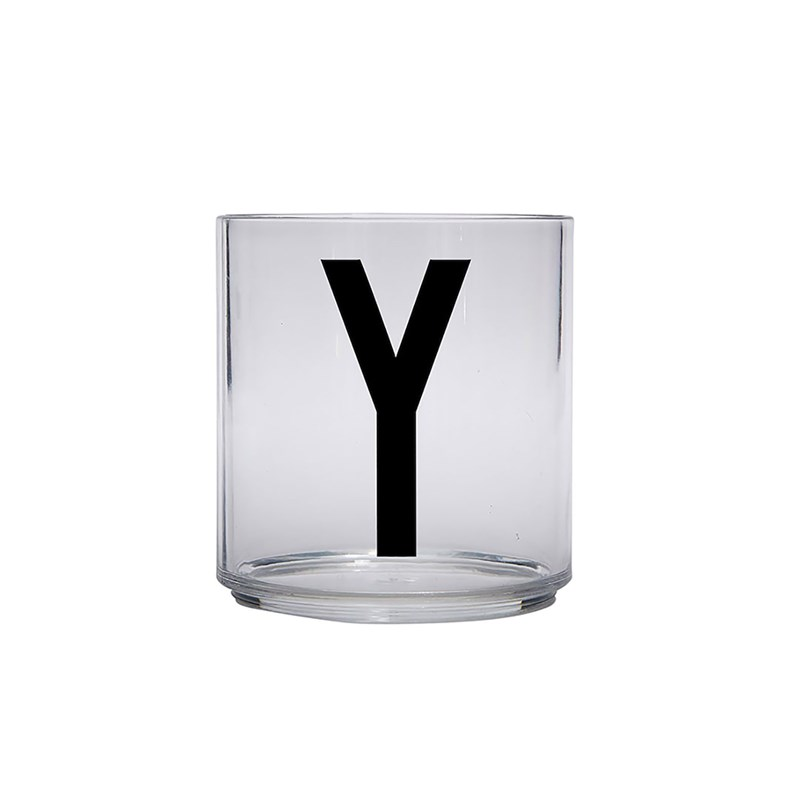 Design Letters Kids Personal Drinking glass Y One Size