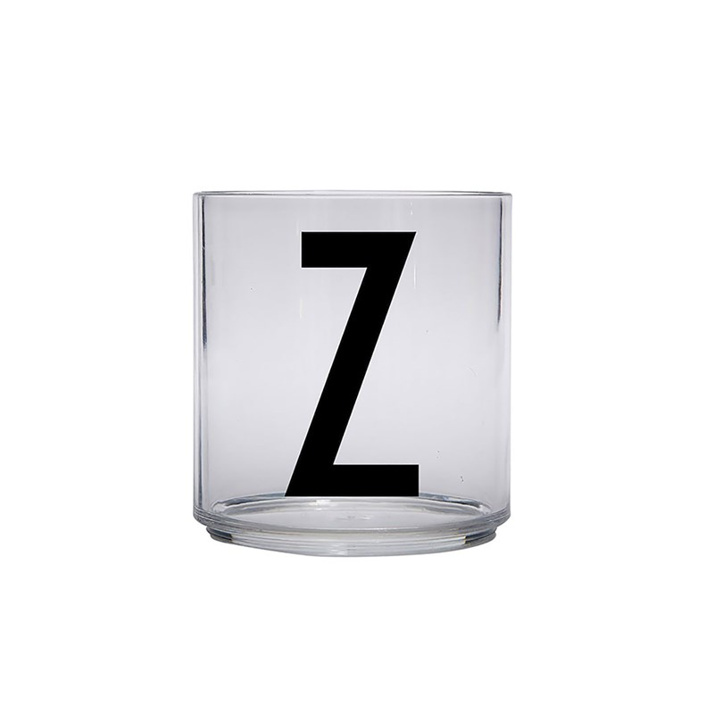 Design Letters Kids Personal Drinking glass Z One Size