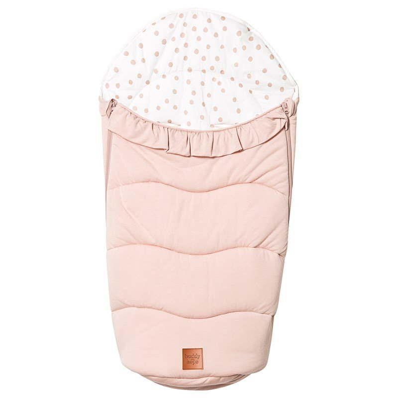 Buddy & Hope Spring Footmuff Flounce Pink One Size