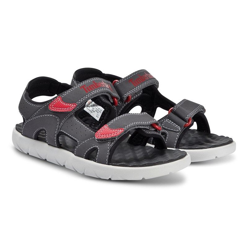 Timberland Perkins Row 2 Strap Sandal Forged Iron 24 (US 7,5)
