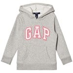 Gap Logo Huvtröja Heather Grey