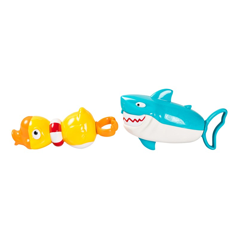 Best Time Toys Watergun 2 pack Shark and Duck 0 - 10 years