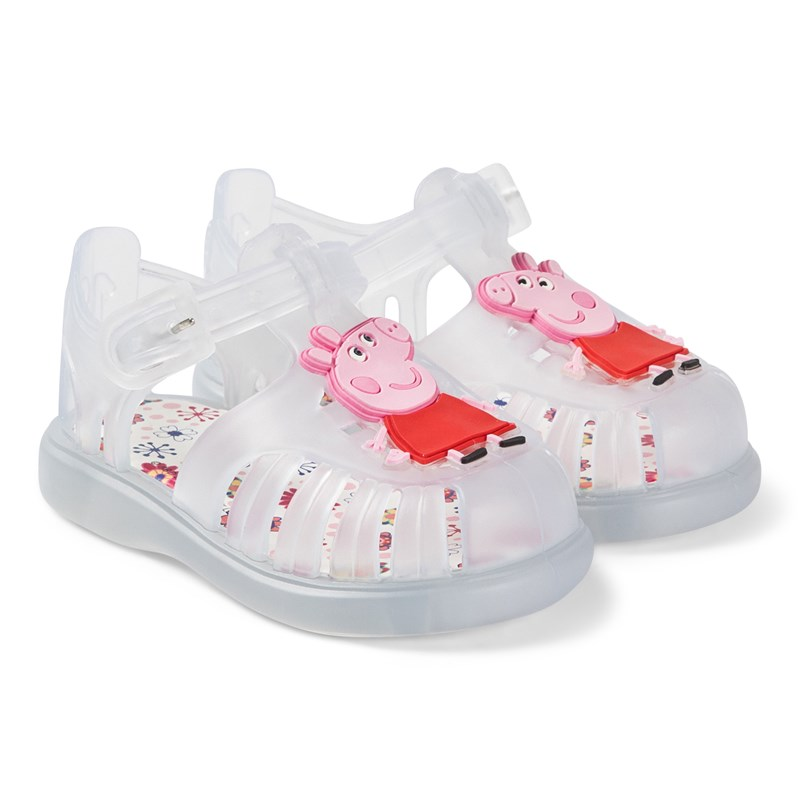 Igor Peppa Pig Jelly Sandals Vit 19 (UK 3)