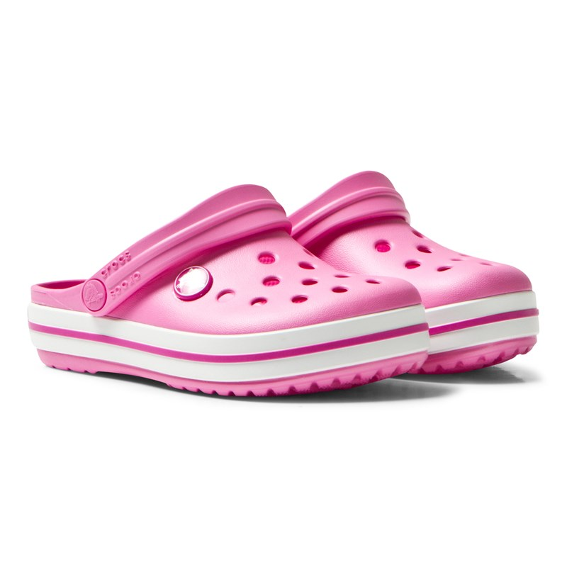 Crocs Tofflor Kids Crocband Party Pink C6 (EU 22-23)