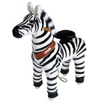 Pony Cycle Zebra Ride-On, Mankhöjd 49 cm, Small