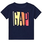 Gap April Logo T-Shirt Elysian Blue