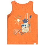 Gap Graphic Tank Topp Heatwave Orange