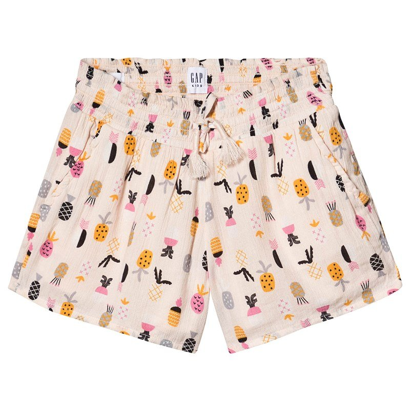 8ddb6fa3 Bilde av Gap Smocked Short Pineapple M (8-9 år)