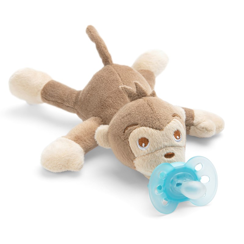 Philips Avent Snuggle - Plush toy with UltraSoft soother Monkey One Size