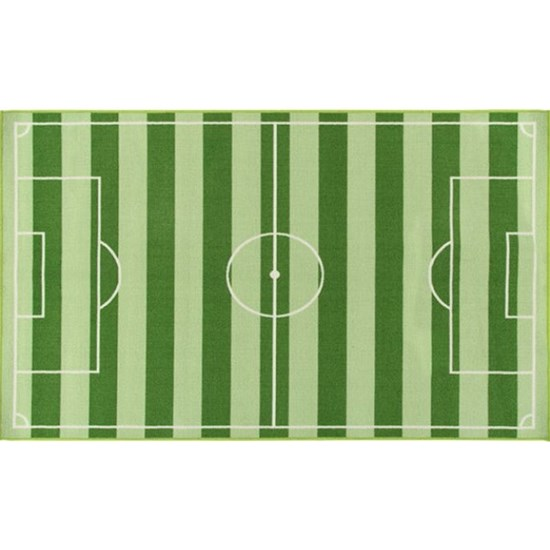 ABC Kids Football Matta 80x140 cm Grön