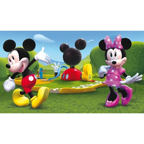 Disney Mickey Mouse Mickey Mouse Club House Matta 80x140 cm Grön