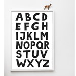 Tellkiddo ABC Poster A3