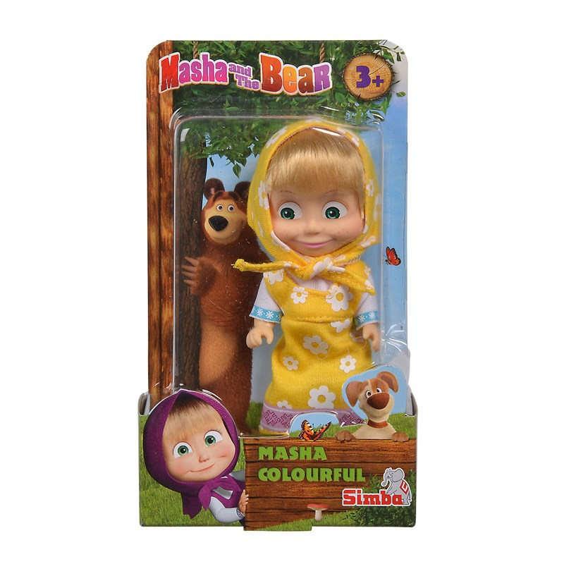 Masha and The Bear Masha Docka 3+ years