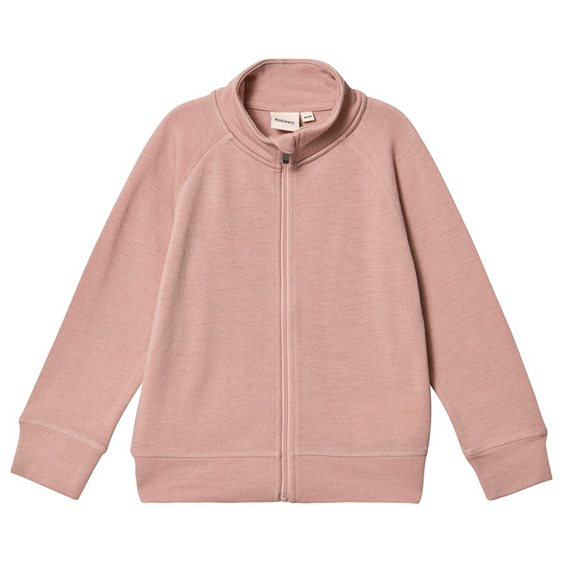 Kuling Uld Terry Cardigan Pink 98/104 cm