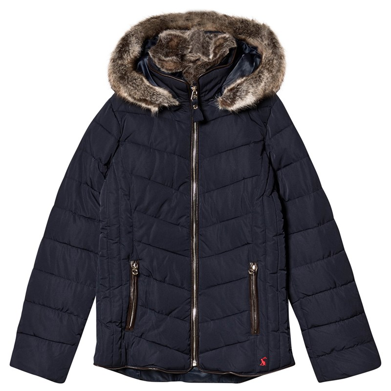 Joules Gosling Quiltad Jacka Marinblå 3 years