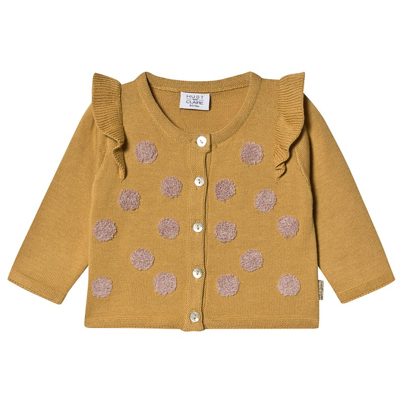 Hust&Claire Cia Cardigan Banana 74 cm (6-9 mdr)