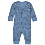 Hust&Claire Mala Baby Bodysuit Blue Glass