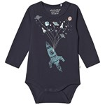 Minymo Print Baby Body Outer Space