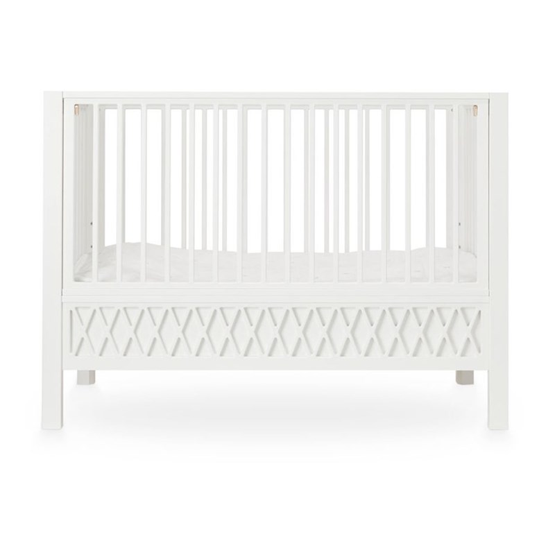Cam Cam Harlequin Baby Bed White One Size