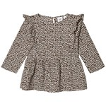 Gap Peplum Top Leopard