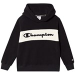 Champion Polar Fleece Huvtröja med Logga Svart