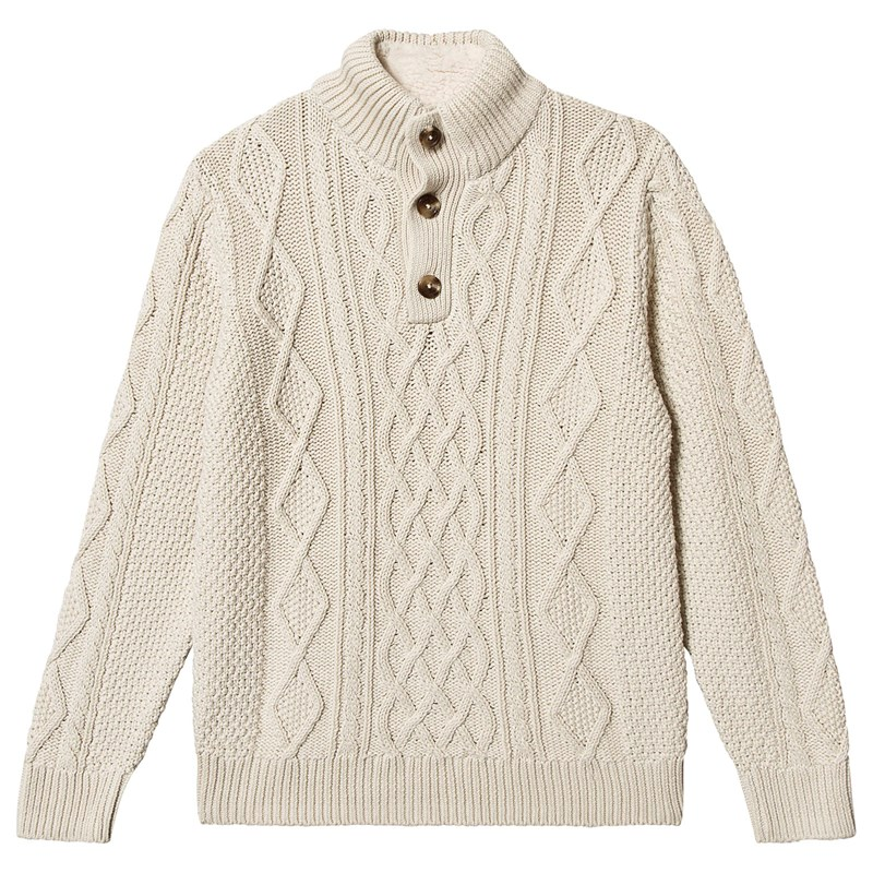 Gap Strikket Trøje Ivory Cream XL (12-13 år)