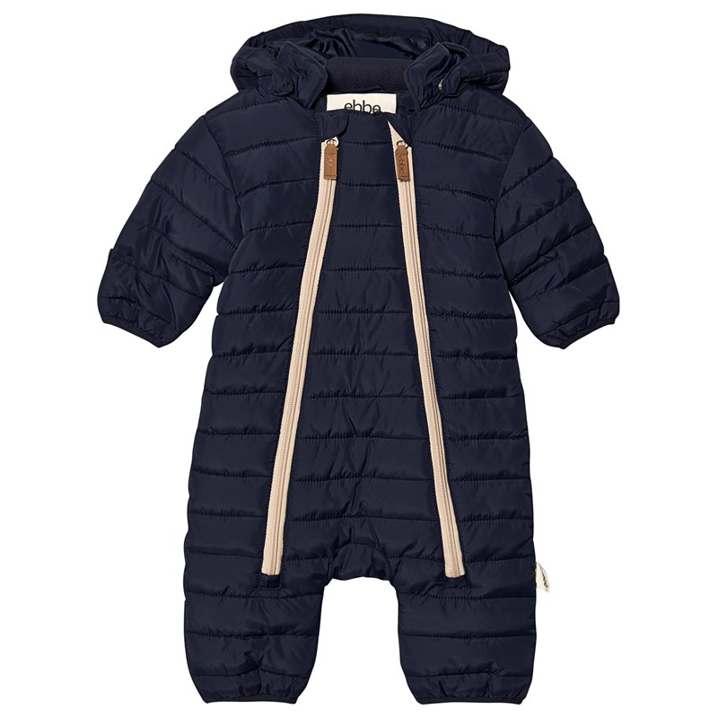 ebbe Kids Damon Quiltad Overall Deep Lake Blue 68 cm (4-6 mån)