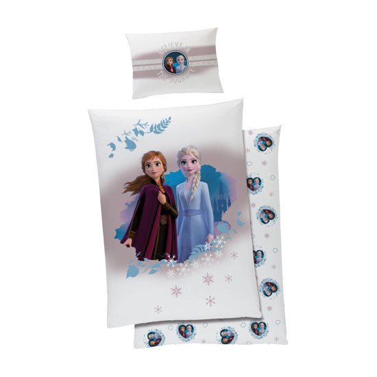 Disney Frozen Frost Påslakanset Believe In The Journey 150 x 210 cm