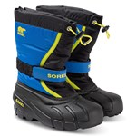 Sorel Flurry™ Ungdom Kängor Black/Super Blue