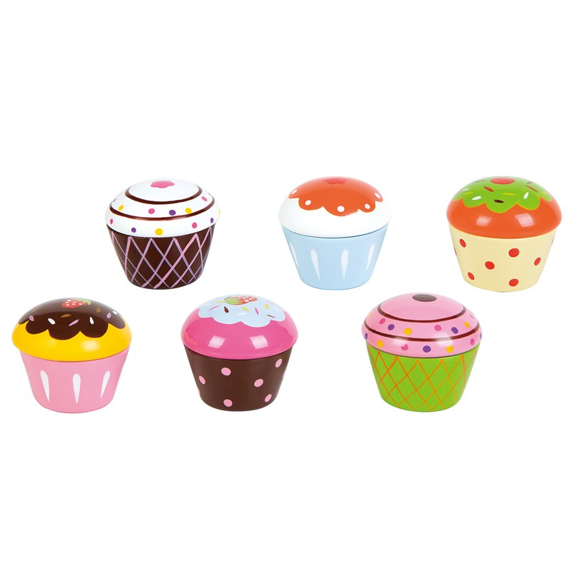 Lelin 6-Pack Muffins 3+ years