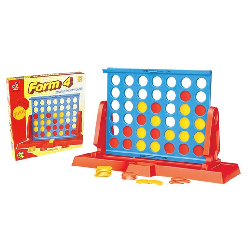 Best Time Toys Barnspel 4 i rad One Size