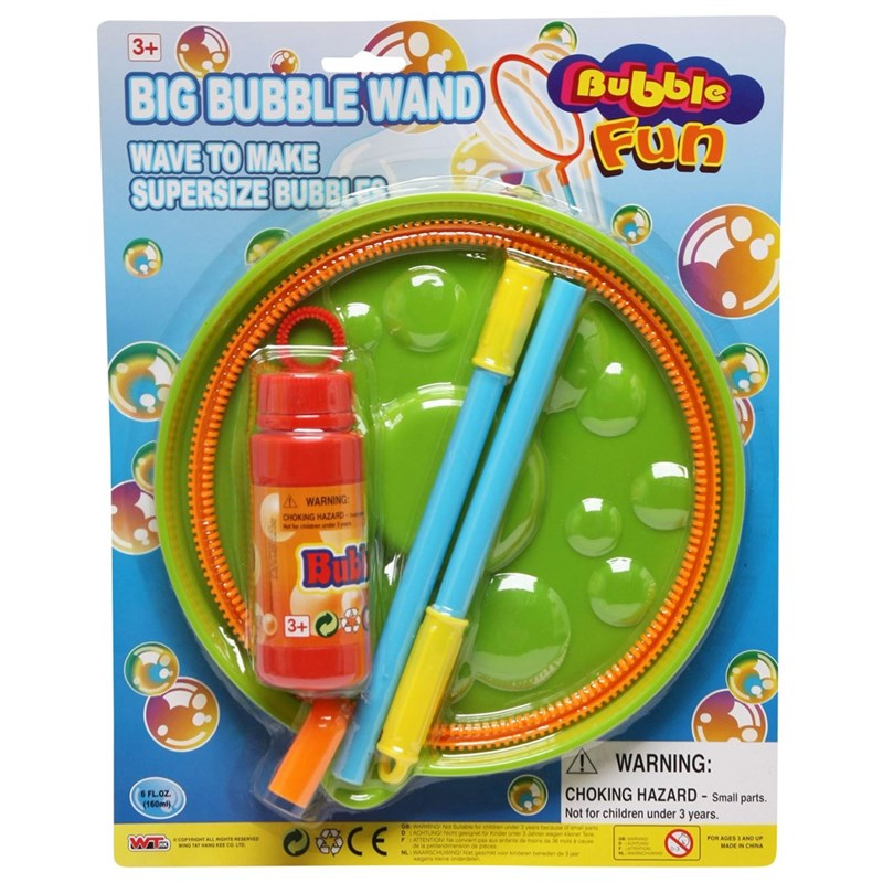 Best Time Toys Big Bubble Wand 3 – 12 år