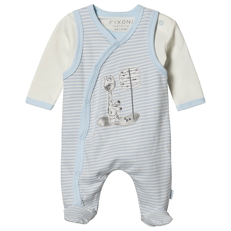 Fixoni Babyset New Light Blue 68 cm (4-6 Months)