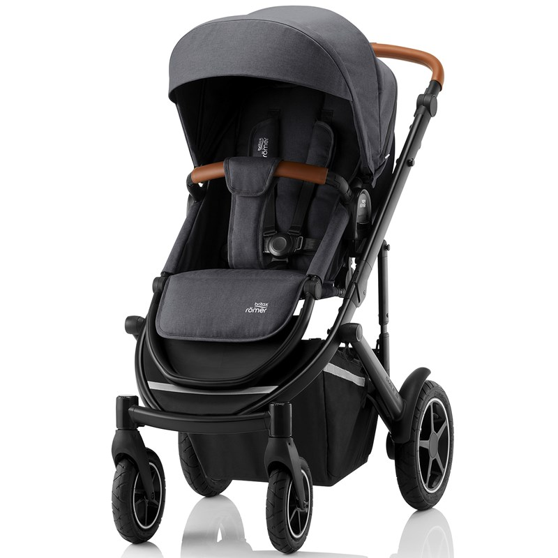 Britax Smile III Barnvagn Midnight Grey One Size