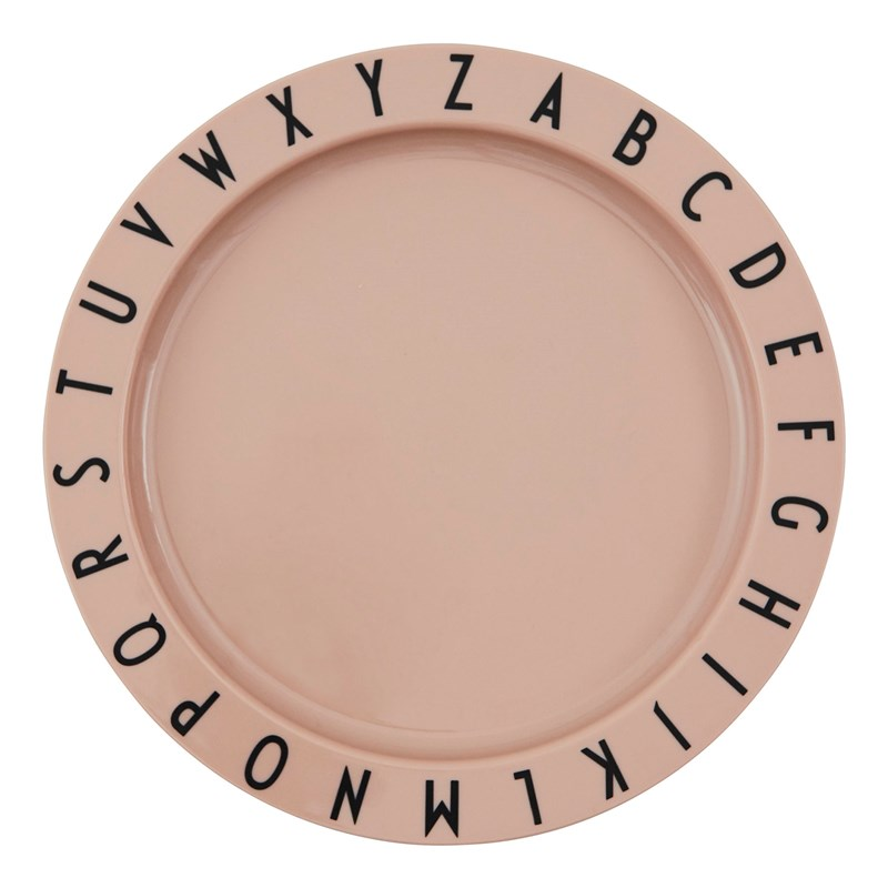 Design Letters Eat & Learn ABC Tallrik Nude One Size