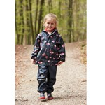 Celavi Rainwear Set - Aop Navy