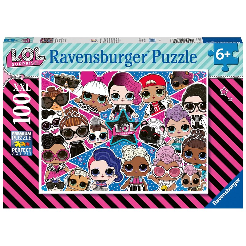Ravensburger Pussel LOL Surprise XXL 100 Bitar 6 – 9 years