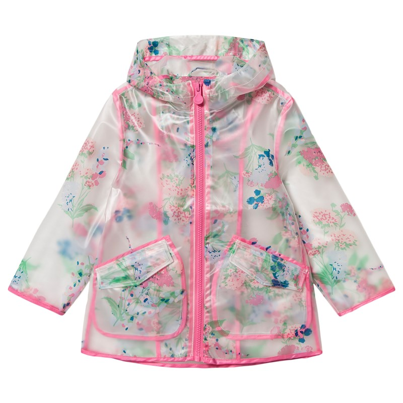 Joules Floral Regnjacka Clear 11-12 years