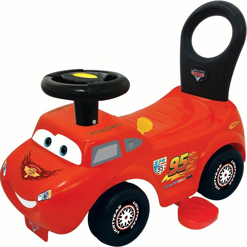 Disney Pixar Cars Disney Cars Gåbil Activity Ride On 2-in-1 One Size