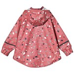 Didriksons Edlyn Regn Cape Pink Blush Terazzo