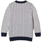 Emma och Malena Evert Knitted Kids White/Navy