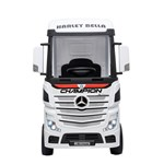 Elite Toys Mercedes Actros Truck with Rubber Tires 4x12V White