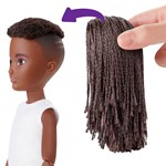 Creatable World Black Braided Hair Deluxe Character Kit